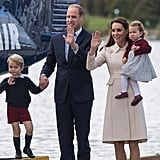 William, Kate, George, and Charlotte in Canada, 2016