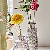Cara Short Glass Vase