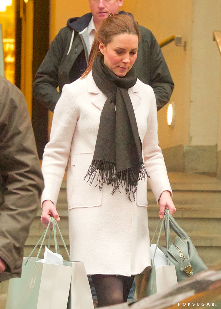 Pregnant Kate Middleton Kicks Off Her Busy Week With a Shopping Spree