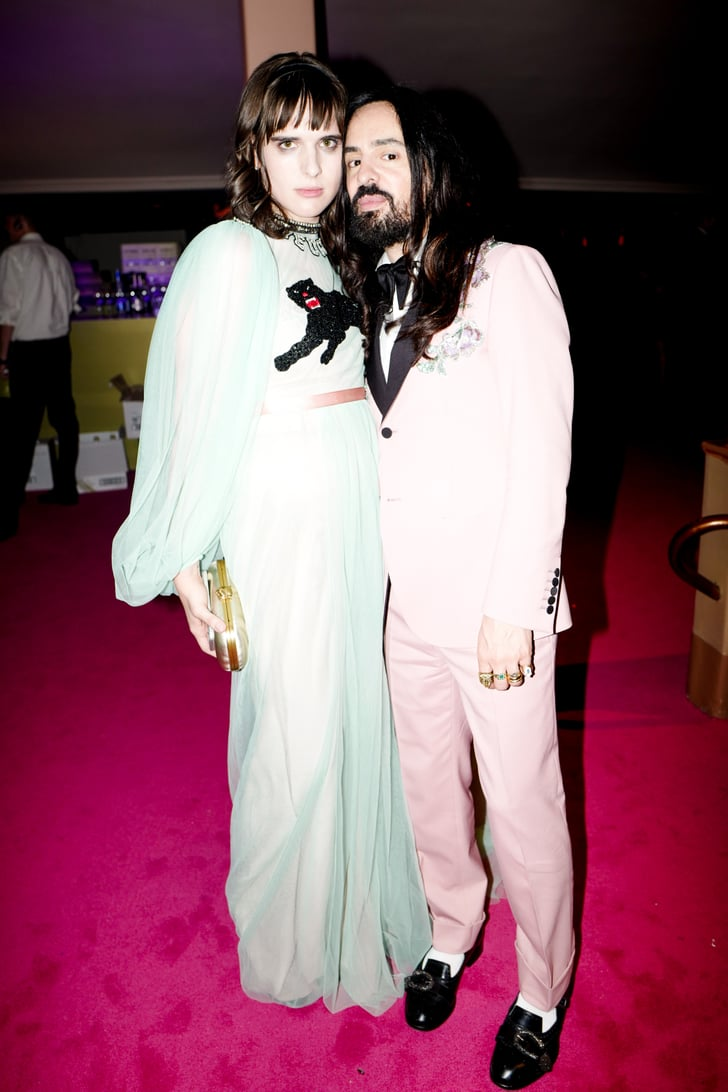 Hari Nef And Alessandro Michele Perfect In Gucci Cfda