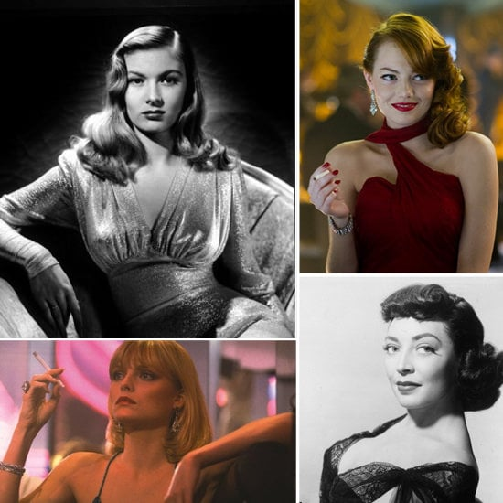 women in film noir popsugar beauty
