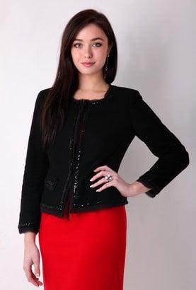 Chanel Inspired Jeweled Tweed Jackets