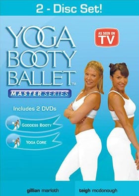 dvd review yoga booty ballet — goddess booty and yoga