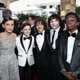 It Looks Like the Stranger Things Cast Stepped Out of a James Bond Movie at the Golden Globes