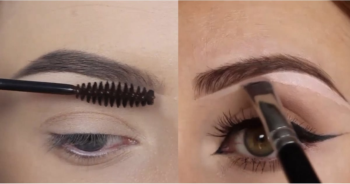 Eyebrow Tutorials From Instagram Popsugar Beauty