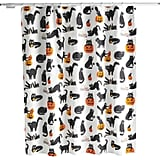 Celebrate Halloween Together Cat Unit Shower Curtain