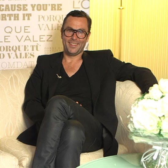 Hair Colorist Christophe Robin Interview   Video