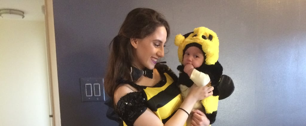 Last-Minute Baby Halloween Costume