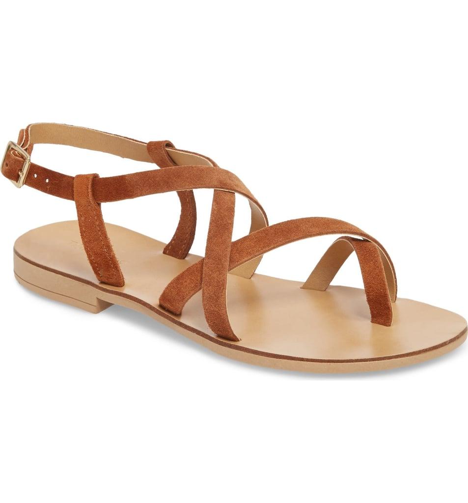 Topshop Hotstuff Toe Ring Sandals