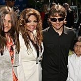 Paris, Prince, and Blanket Jackson Family Pictures