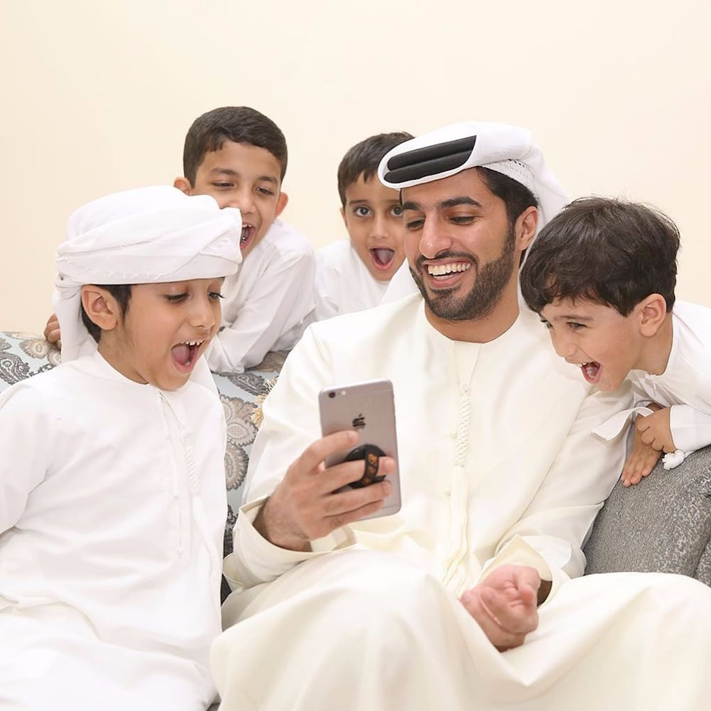 Careful Not to Burn Yourself on These Snaps of Sheikh Rashid bin Humaid Looking Hot Hot Hot