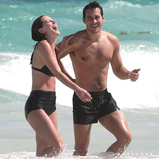 Melissa Benoist and Chris Wood Cute Pictures