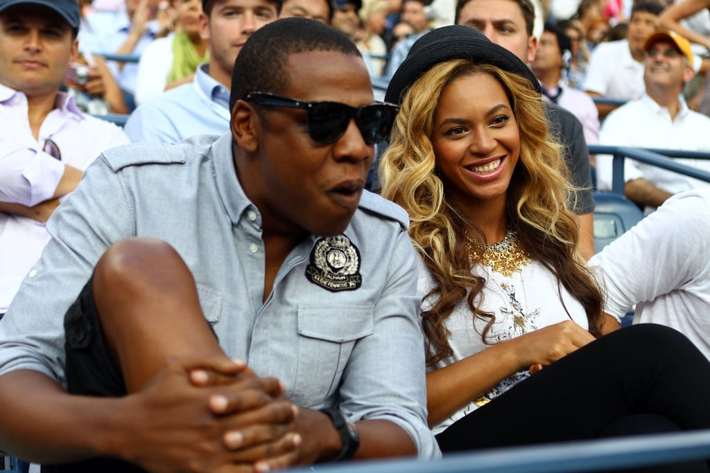 Jay-Z and Beyoncé Knowles in NYC.