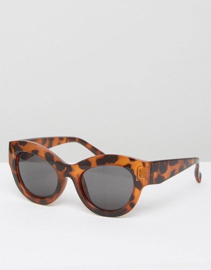Cheap Monday Cat Eye Sunglasses in Tortoise Print