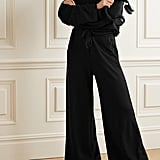 Year of Ours Stretch modal and cotton-blend wide-leg track pants