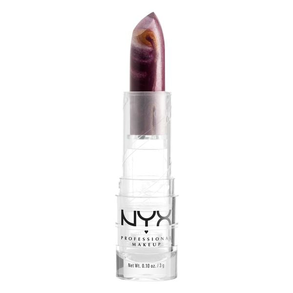 NYX Faux Marble Lipstick in Berry