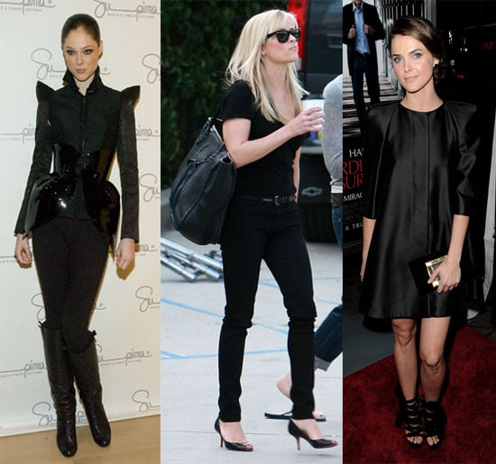 Celebrities in All Black Outfits 2010-01-24 10:11:22
