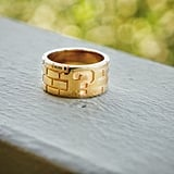 Super Mario Gold-Plated Mystery Brick Ring ($65)