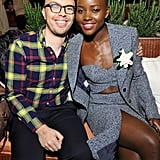 Lupita brought her best friends, Ben Kahn, as her date to the Women in Film pre-Oscars party.