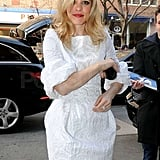 Rachel McAdams is in NYC promoting The Vow.