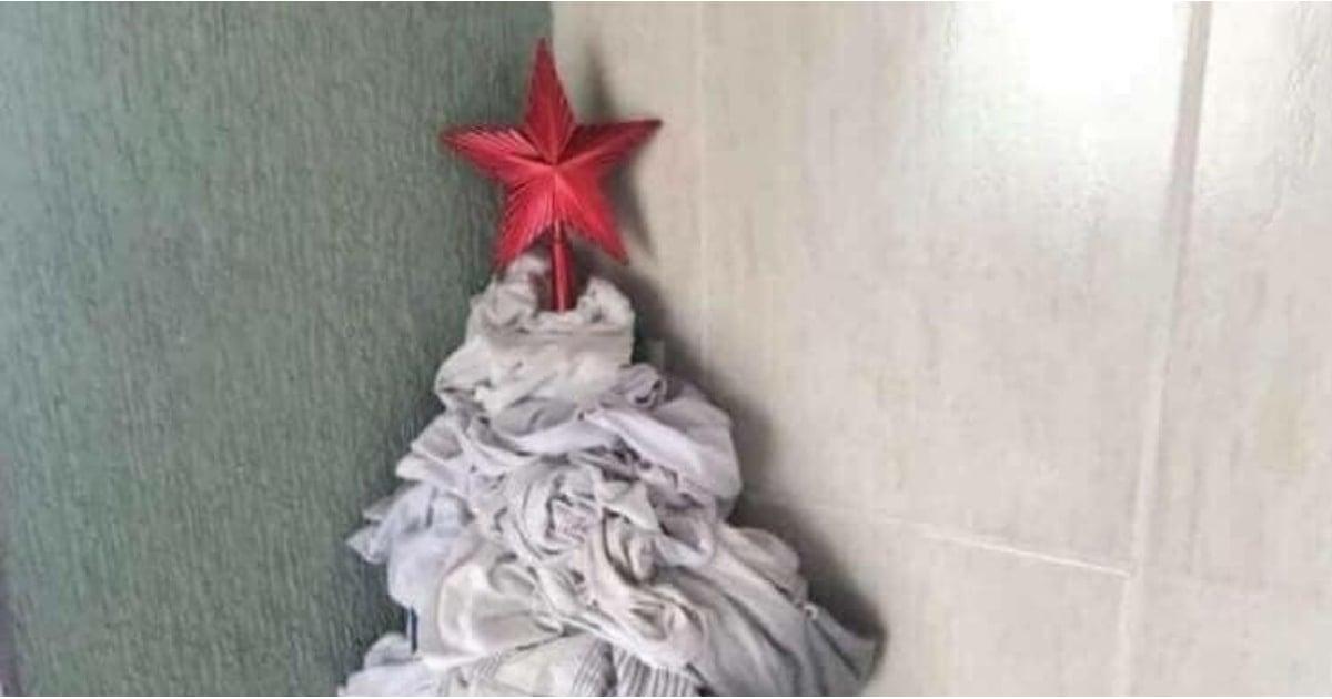 Dirty Laundry Christmas Tree