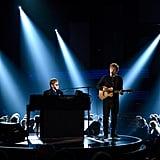 Elton John and Ed Sheeran