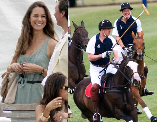 Pictures of Prince William, Prince Harry and Kate Middleton
