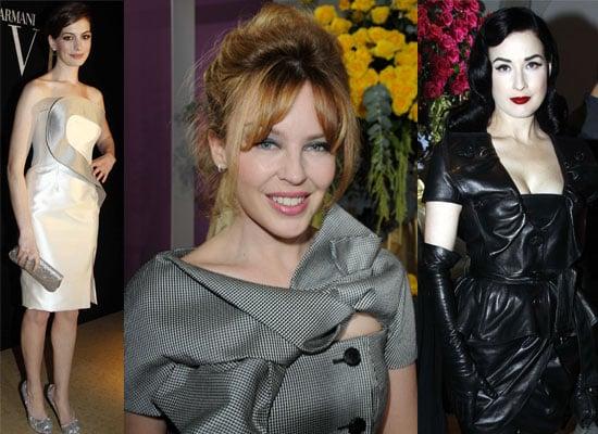 Celebs Paris Haute Couture Shows
