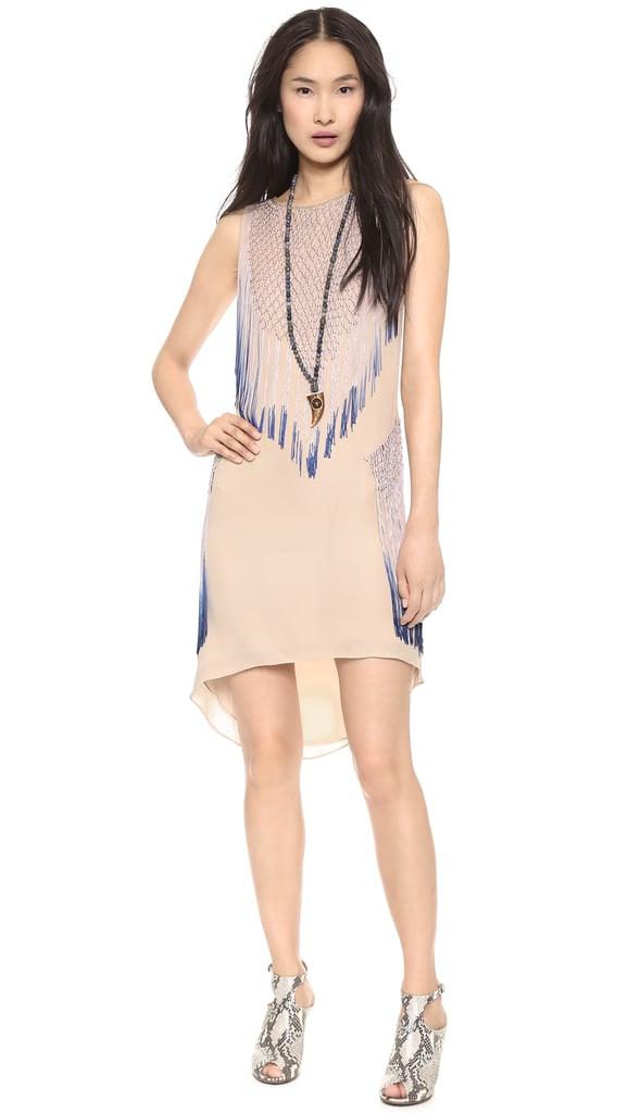 Haute Hippie Fringed Dress