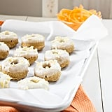 Carrot Cake Doughnuts With Ginger Cream Cheese Icing