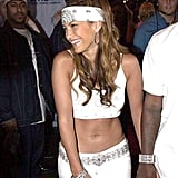 Just a Reminder That This Is What J Lo Wore to the 2000 MTV Video Music Awards