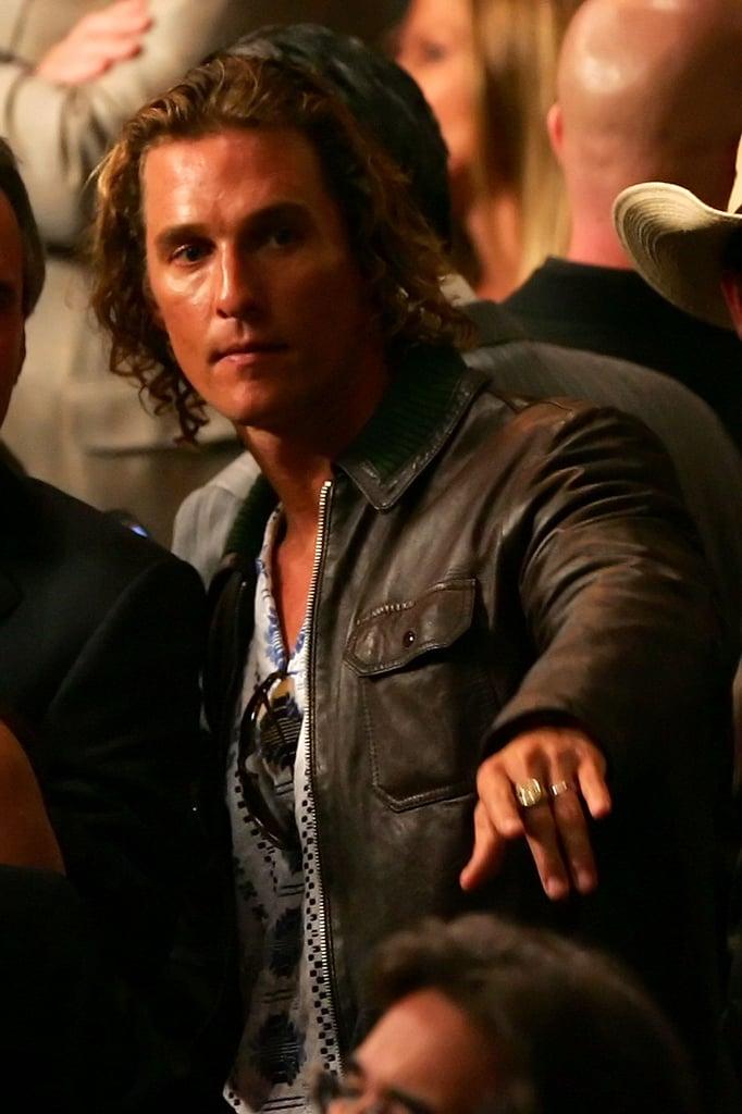 Sexy Matthew McConaughey Pictures