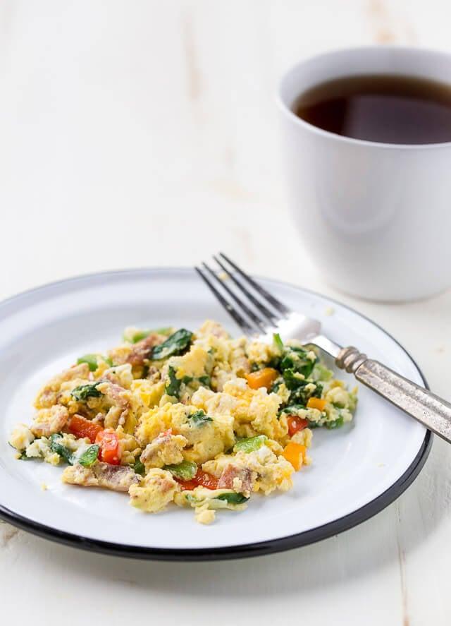 Egg in a Mug Breakfast