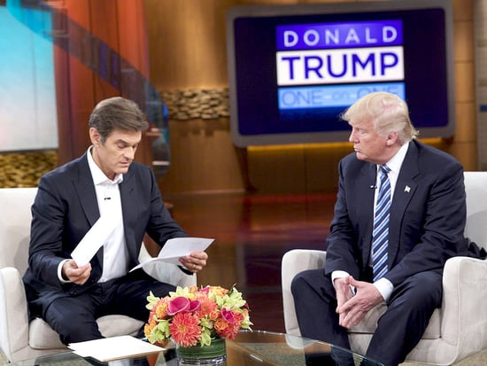 Donald Trump Shares Two Pages of Reports from His Recent Physical Exam on The Dr. Oz Show