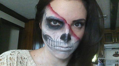 45 Scary Halloween Makeup Ideas From Reddit Popsugar Beauty