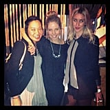 PopSugar's Jess, FabSugar's Ali and BellaSugar's Alison went glam for the Myer Spring Summer 2013 Collection launch on Thursday night.