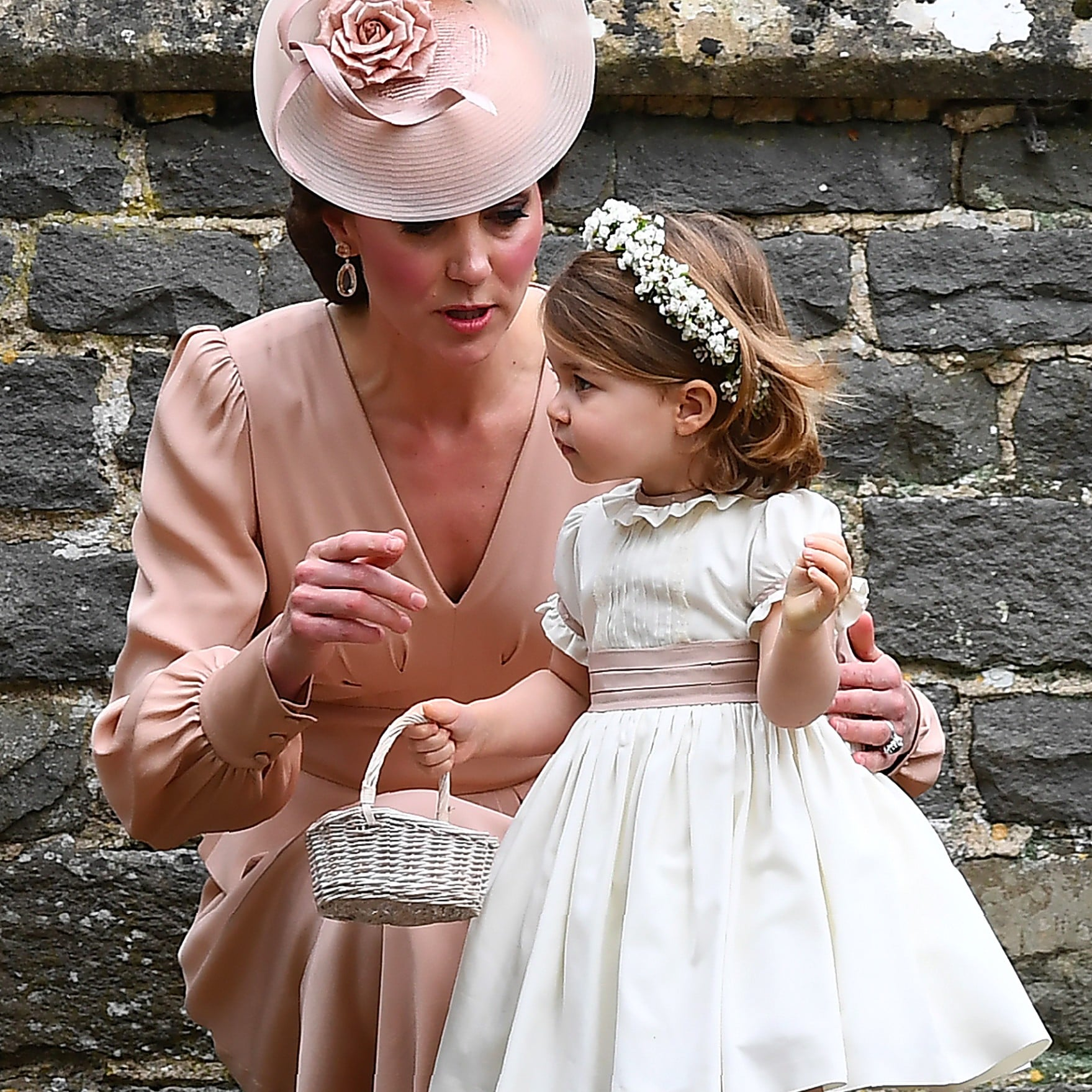 George And Charlotte At Pippa Middleton S Wedding Pictures