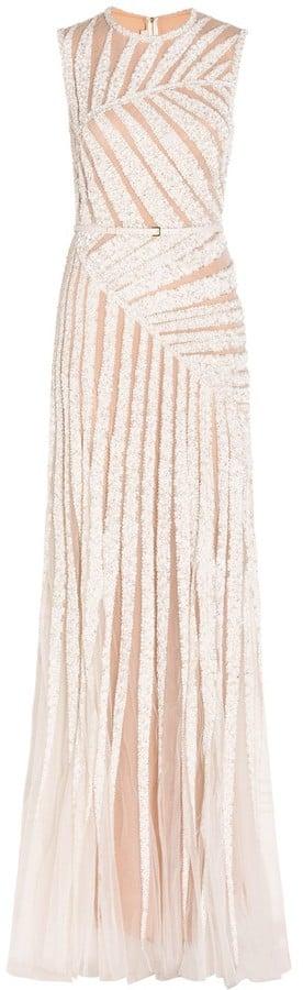 Elie Saab Sleeveless Embellished Tulle Gown ($13,164)