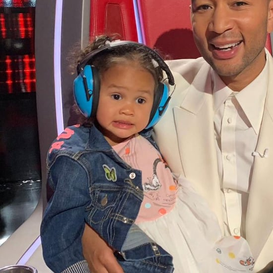 Chrissy Teigen's Luna Crying Face Instagram Photo 2019
