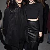 Even Alexander Wang Approved of Kendall's Chic All-Black Look