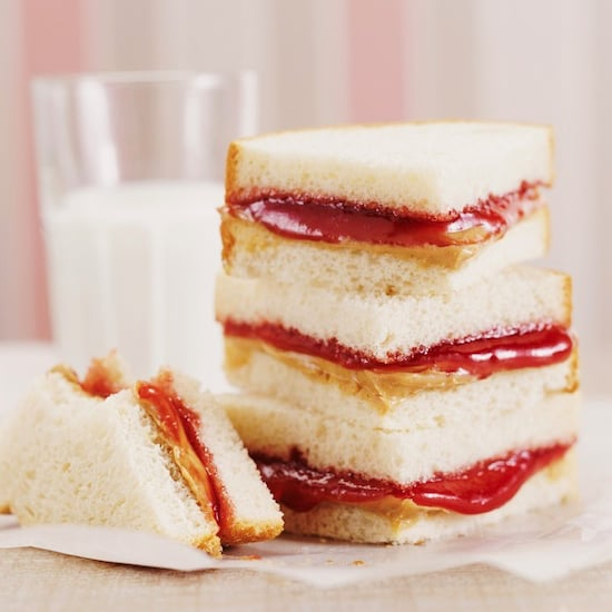 Peanut Butter and Jelly Sandwich Additions