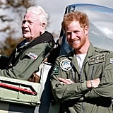 When Prince Harry Was Scruffy and Smiley