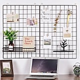 Painted Wire Wall Grid Panel