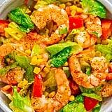 Honey Lemon Shrimp and Corn Salad