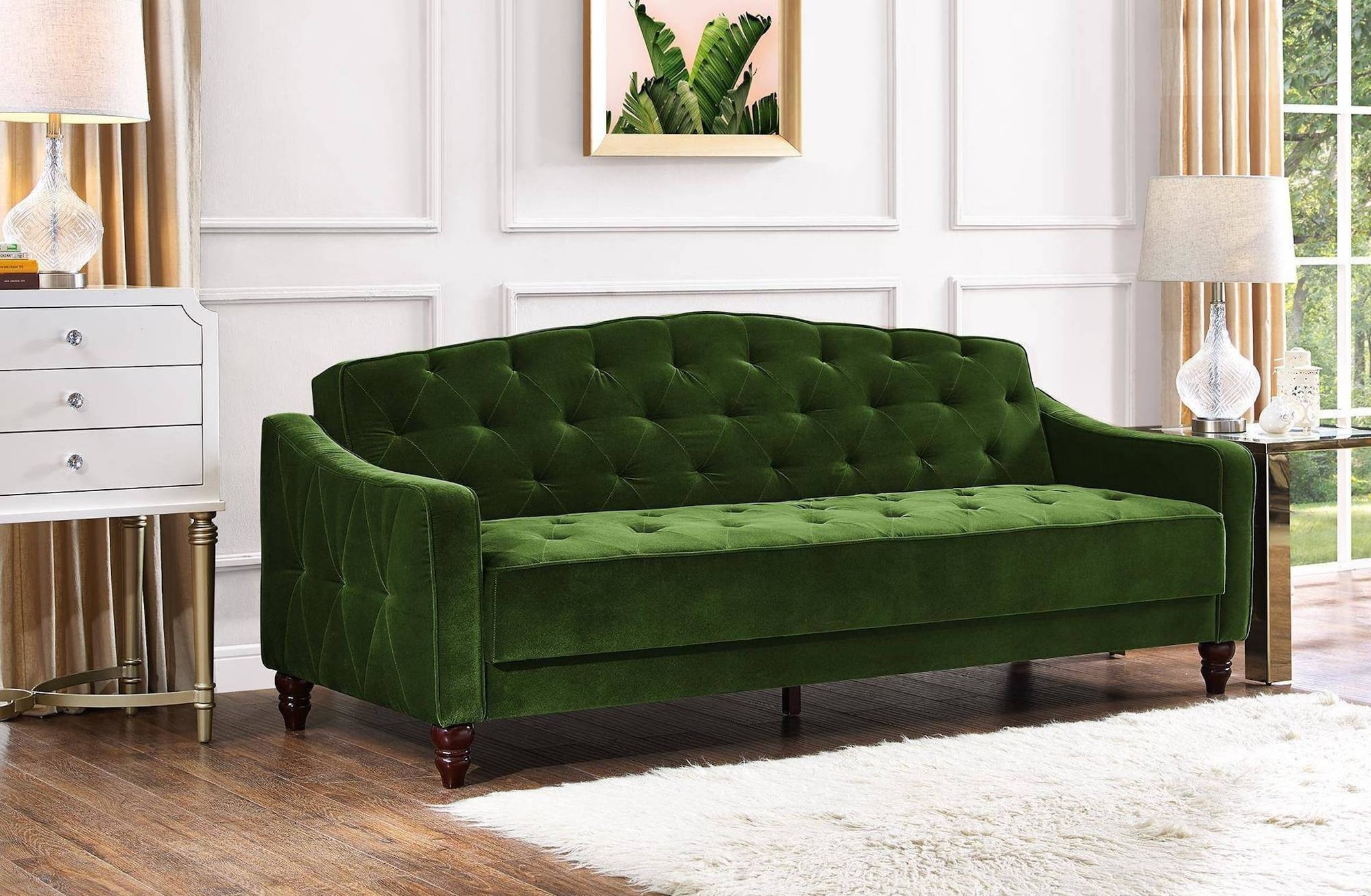 Finest Novogratz Vintage Tufted Sofa Sleeper Review | POPSUGAR Home RE78