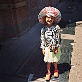 According to Busy Philipps, sometimes you just have to let your kids dress themselves — as Birdie Silverstein did here.  Source: Instagram user busyphilipps