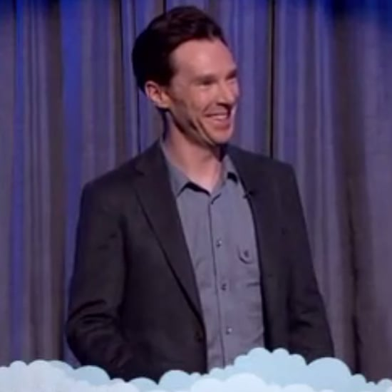 Benedict Cumberbatch Reading Mean Tweet on Jimmy Kimmel