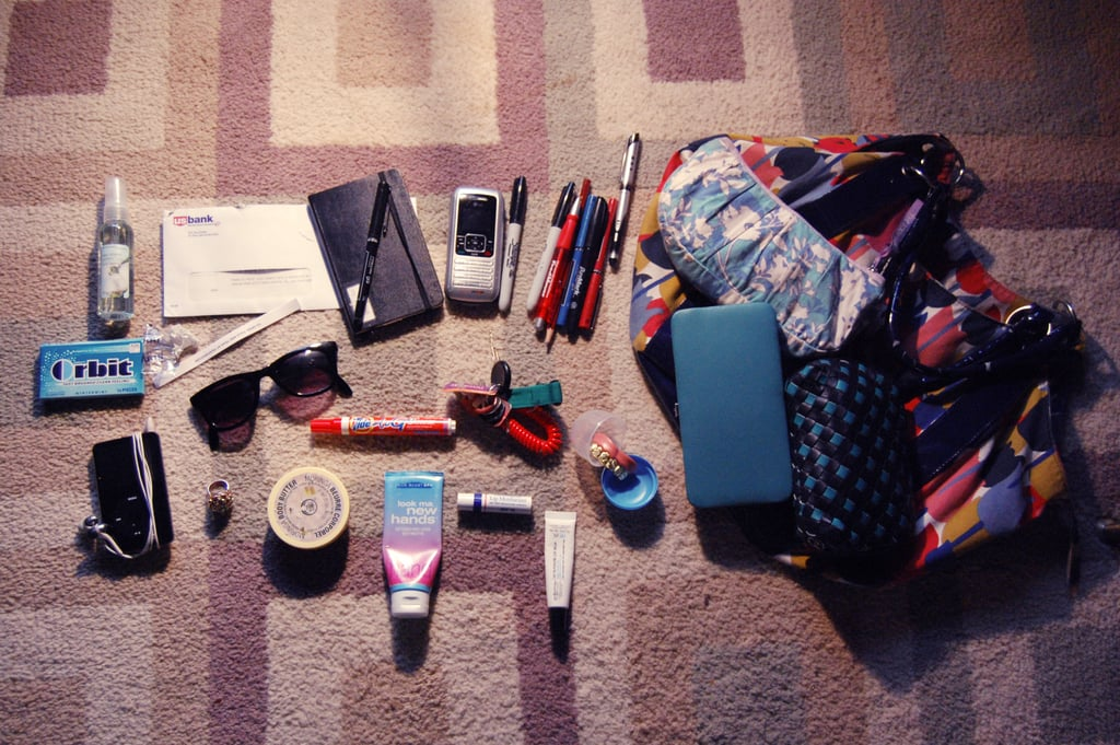 The contents of your workbag used to look like this.