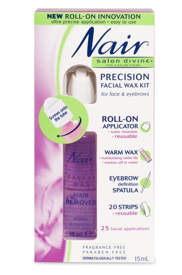 Product Reviews of Nair Salon Divine Precision Facial Wax Kit