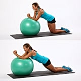 Kneeling Ball Roll Out